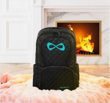 Nfinity Quilted Backpack türkis
