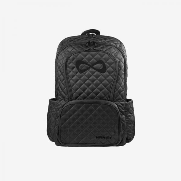 Nfinity Quilted Backpack black