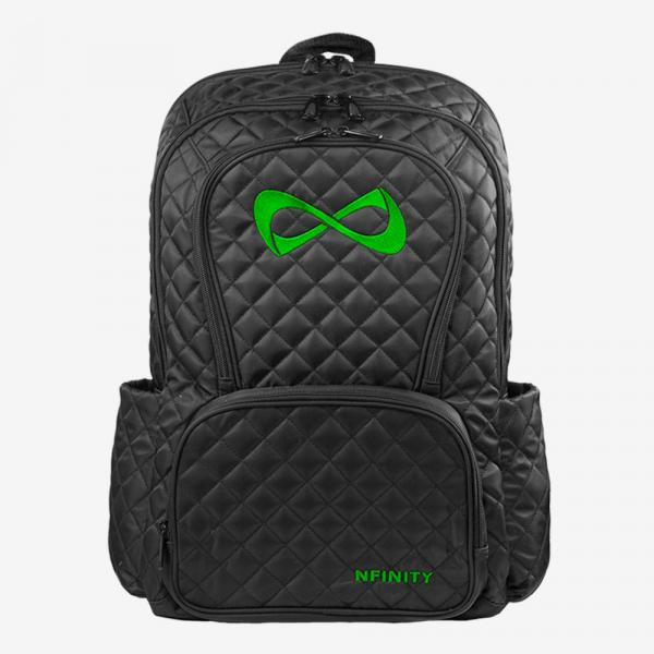 Nfinity Quilted Backpack kelly green